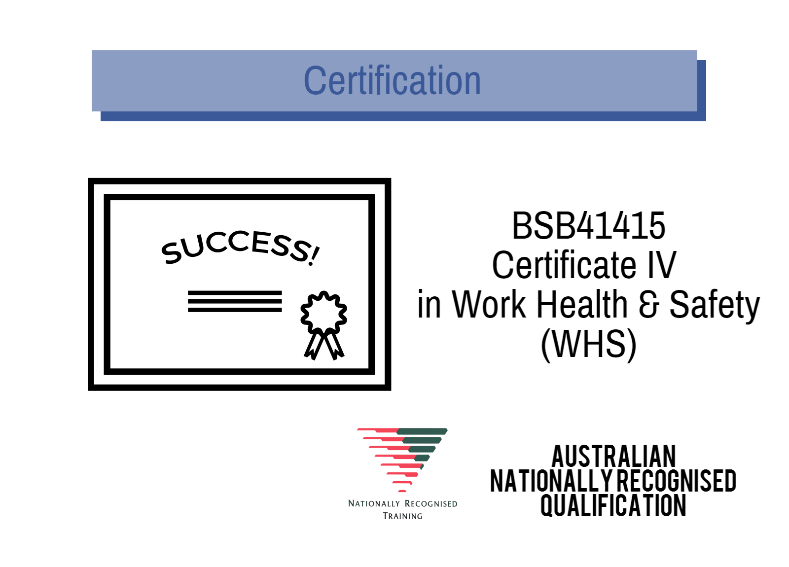Training Aid's Certificate IV Work Health and Safety course is held in Sydney CBD